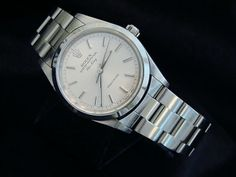 brand new 5086b 2a22c Mens Stainless Steel Rolex... Rolex Air King, High End Watches, Stainless