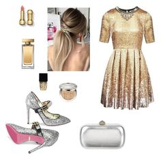 """""""New year"""" by look-by-alina on Polyvore featuring мода, Gucci, Witchery, Dolce&Gabbana и Christian Dior"""