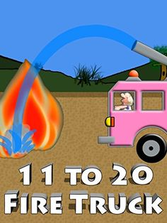Pink Fire Truck Counting 11 to 20 For Kids *** You can find more details by visiting the image link.Note:It is affiliate link to Amazon.