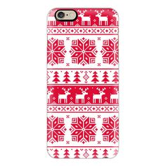 iPhone 6 Plus/6/5/5s/5c Case - Christmas sweater (280 HRK) ❤ liked on Polyvore featuring accessories, tech accessories, iphone case, iphone cover case and apple iphone cases