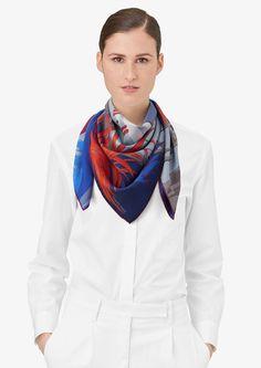 90 x 90 cm scarf Hermès | Au Bout du Monde