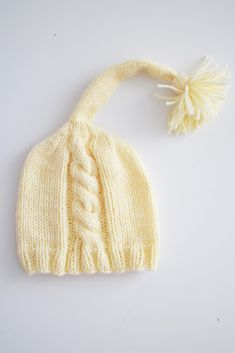Yellow knit hat for newborns for age months Can be used as a Photo shoot props for the baby , and for daily walks Baby Hats Knitting, Knitted Baby, Newborn Photo Props, Newborn Photos, Baby Boy Hats, Newborns, 3 Months, Walks, Photo Shoot