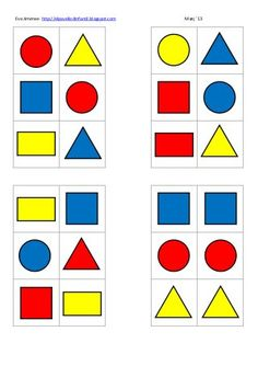 blocs logics i espai eva Preschool Learning Activities, Preschool Education, Indoor Activities For Kids, Brain Activities, Preschool Printables, Preschool Worksheets, Toddler Activities, Preschool Activities, Teaching Procedures