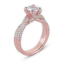 rose gold & diamonds? GORGE!