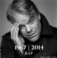 Q.D.E.P. Philip Seymour Hoffman. 23 de julio 1967 al 02 de febrero, 20.134 hallado muerto en Manhattan Apartment.
