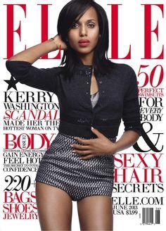 Kerry-Washington - Elle Magazine spread - LOVE IT!!!