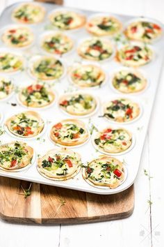 DAYlicious - Herzhafte Muffins - My list of the most healthy food recipes Veggie Recipes, Appetizer Recipes, Cooking Recipes, Vegetarian Muffins, Savory Muffins, Pizza Muffins, Healthy Snacks, Healthy Recipes, Good Food