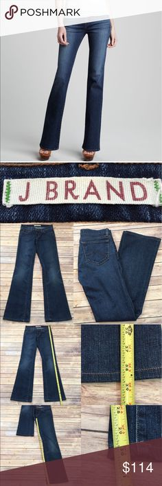 💟Sz 26 Anthro J Brand 818 Mid Rise Boot Leg Jeans Measurements are in photos. Normal wash wear, no flaws. E2  I do not comment to my buyers after purchases, due to their privacy. If you would like any reassurance after your purchase that I did receive your order, please feel free to comment on the listing and I will promptly respond.   I ship everyday and I always package safely. Thank you for shopping my closet! Anthropologie Jeans Boot Cut