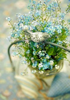 forget+me+knots | Sweet Forget me Knots....