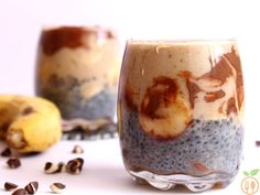 I found this healthy chocolate banana smoothie with chia seeds, a great option for a nutritious breakfast. This chocolate banana chia seeds smoothie can