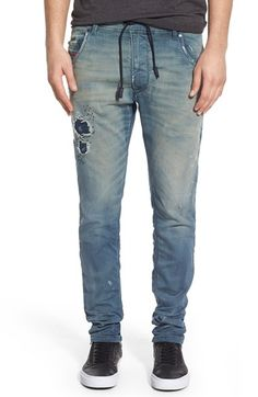 'Krooley - Jogg' Slouchy Slim Jeans (672F)