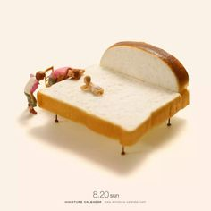 Miniature Art By Tatsuya Tanaka. Tatsuya Tanaka is a Japanese artist and Continue Reading and for more miniatures → View Website Miniature Photography, Toys Photography, Creative Photography, Kristina Webb, Miniature Calendar, Tiny World, Creative Pictures, Mini Things, People Art