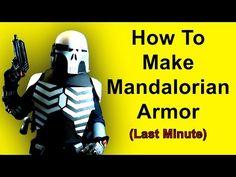 How to Make Stormtrooper Armor - Shoulders (DIY) - YouTube