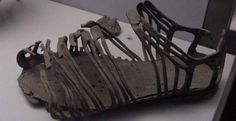 Pompeii - On their feet, both men and women wore leather sandals