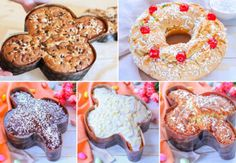 DOLCI DI PASQUA FACILI E VELOCI Mini Desserts, Chiffon Cake, Calamari, Frittata, Easter Crafts, Doughnut, New Recipes, Buffet, Food And Drink