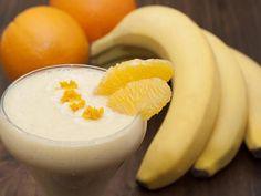 Milk-shake banane/oranges (sans produits laitiers) : Recette de Milk-shake…