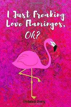 I Just Freaking Love Flamingos, OK? Gratitude Journal: Guided 52 Week Gratitude Journal For Women With Flamingo Inspirational Quotes Flamingo Craft, Flamingo Gifts, Flamingo Decor, Pink Flamingos, Flamingo Outfit, Flamingo Pictures, Pink Bird, Everything Pink, Planner