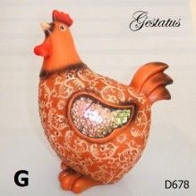 D678 GALINHA G. 25CM R$ 10,00