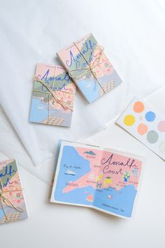 travel design Illustrator Feature: Jaqueline Diedam - The House That Lars Built Spot Illustration, Graphic Design Illustration, Map Illustrations, Brochure Design, Branding Design, Identity Branding, Posca Art, Postcard Design, Design Graphique