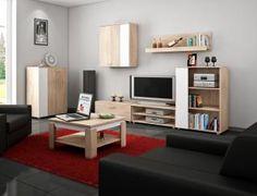 Meblościanka Meblocross Sky - pomysł na urządzenie salonu za trochę ponad 500 zł :)