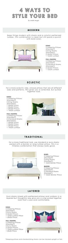 Studio McGee | 4 Ways to Style Your Bed