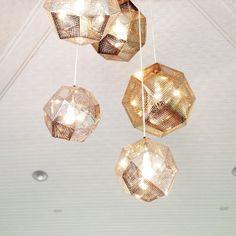 Tom Dixon Lights - love the design