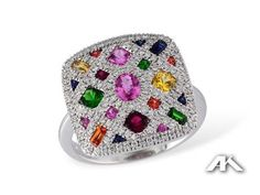 LDS DIA & COLOR RG .38 DIA 1.37 TGW | Rings from Reigning Jewels Fine Jewelry | Athens, TX