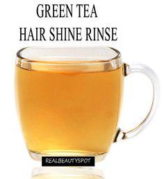 5 DIY Green tea hair products for healthy hair growth