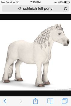 Schleich Fell Pony Stallion Toy Figure   Check this awesome product by  going to the link at the image. 01c0807c19b