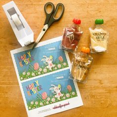 Healthy option for Easter baskets, Easter side dish, or Easter party! Free printables for applesauce pouches. Clear pouch, gluten free, non gmo! Crafts For Girls, Easy Crafts For Kids, Toddler Crafts, Fun Crafts, Easter Snacks, Easter Treats, Easter Dinner, Easter Party, Girl Craft