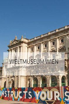 Das Weltmuseum Wien zählt mit seinen umfassenden Sammlungen von ethnografischen Objekten, historischen Fotografien und Büchern zu außereuropäischen Kulturen zu den bedeutendsten ethnologischen Museen der Welt. San Francisco Ferry, Louvre, Building, Travel, Cultural Diversity, World, Viajes, Buildings, Destinations