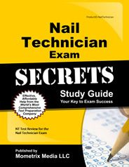 Prepare with our Nail Technician Study Guide and Nail Technician Exam Practice Questions. Print or eBook. Guaranteed to raise your Nail Technician test score. Get started today!