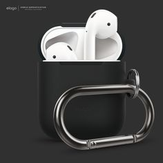 elago AirPods Hang Case - Black.