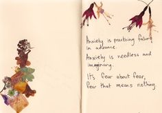 anxiety; seth godin quote and art by whatever-you-write