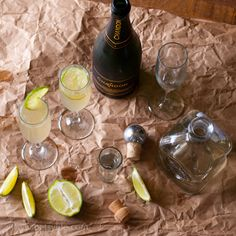 Champagne Margaritas. The ultimate poolside drink for Summer!