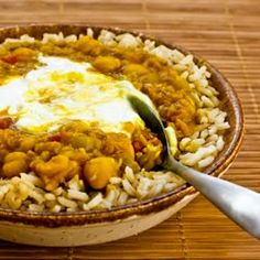 Kalyn's Kitchen®: Recipe for Spicy Red Lentil and Chickpea Stew (Paula's Moroccan Lentil Stew)  [#SouthBeachDiet friendly recipe]