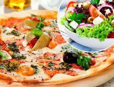 Disfruta de un clásico a la hora de salir a comer fuera, ¡disfruta de la riquísima cocina italiana de Pizzería Eva! Ensalada + pizza + postre + bebida para 2