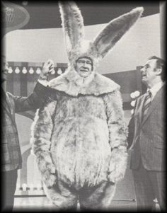 In case you are having a bad day...here's John Wayne in bunny suit...