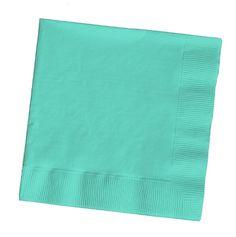 $4 Tiffany blue serviettes (50 pk)