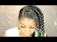 Maintaining straight hair 2O days after flat ironing - black girl who ca...