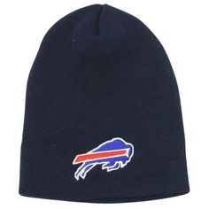 Buffalo Bills Classic Logo Winter Knit Beanie - Navy by Reebok. $4.98. One size fits most ages 13+. Show off your team spirit!. Officially licensed NFL headwear. Keep your head warm during the cold winter months while showing off your team spirit with this officially licensed winter knit headwear. Makes a perfect gift item or self purchase. One size fits most ages 13+. Officially licensed. This item is fulfilled by Amazon.. Save 58% Off!