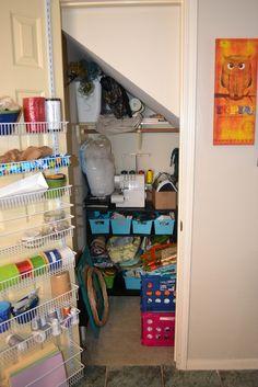 Mommiedom: Craft Closet Reorganization