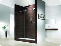 "Fleurco Kinetik One Sided Shower Enclosure - Door & Panel (52""-57"")"