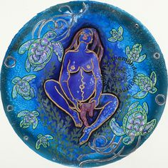 Amy Swagman does such beautiful jobs on these mandalas! I love this, the ocean, turtles and the breech birth, amazing!