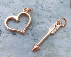 Excited to share the latest addition to my #etsy shop: Rose gold plated open heart charm, heart pendants jewelry, charm bracelet necklace, floating heart charm pendant jewelry, pink gold heart #rosegold #lovefriendship #charms #charmbracelet #floatingheartcharm #heartcharms http://etsy.me/2Acmmpk