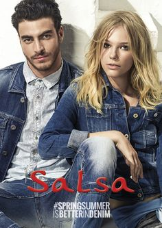Models Alexandre Cunha and Gui Fedrizzi grace the pages of Salsa spring/summer 2015 look book,
