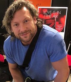 """""""Love is in the air"""" 🥺♥️ New Japan Wrestling, Wrestling Wwe, Ring Of Honor, Adam Cole, Kenny Omega, My Baby Daddy, Wwe Champions, Steve Mcqueen, Girl Guides"""