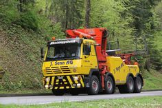 Steyr, Tow Truck, Austria, Recovery, History, Vehicles, Trailers, Europe, Heavy Equipment