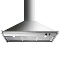 BuySmeg KD100XE Chimney Cooker Hood, Stainless Steel Online at johnlewis.com