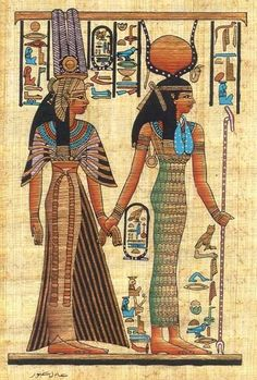 our Egyptian Goddess Inspirations Eye of Horus - http://www.eyeofhoruscosmetics.com/ Isis & Queen Nefertari